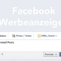 Facebook Werbeanzeigen - Promoted Posts