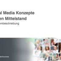 Programmförderung - Social Media Konzepte im Mittelstand