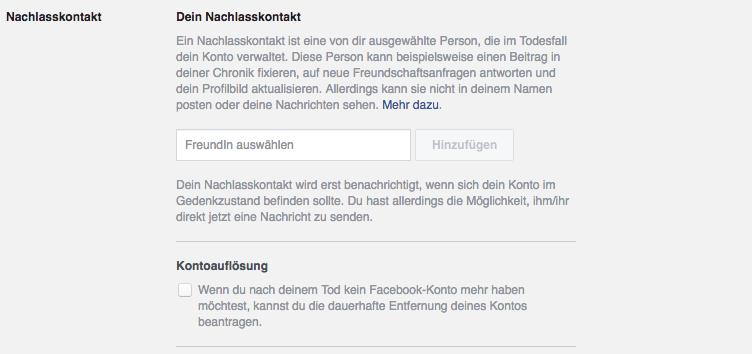nachlass-auf-facebook
