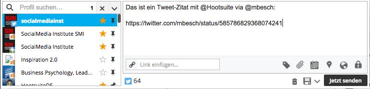 hootsuite-tweet-zitieren