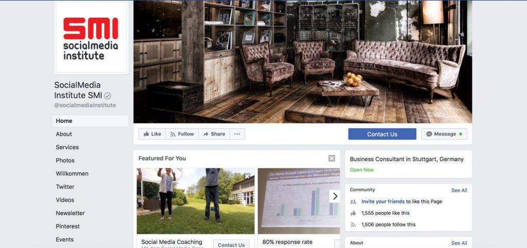 facebook seiten nachrichten-indikator